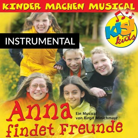 Anna findet Freunde (Instrumental-CD)