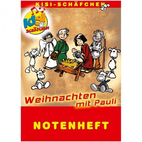 Weihnachten mit Pauli (Liederheft)