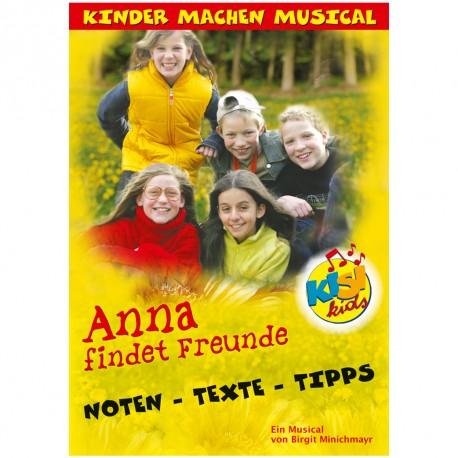 Anna findet Freunde (Liederheft)