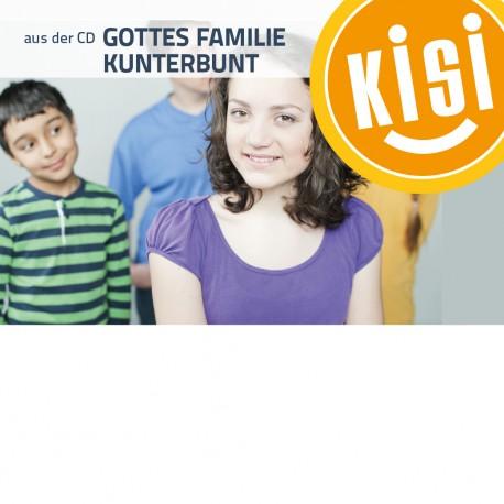 "KISI-Session ""Wir sind Gottes Familie Kunterbunt"""