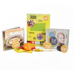 Starte-durch-Paket: CD Nie mehr allein, CD Gott sagt Ja zu mir,Schreibheft, Kuli