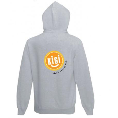 KISI-Seater grau - Hooded Full Zip -  verschieden Größen