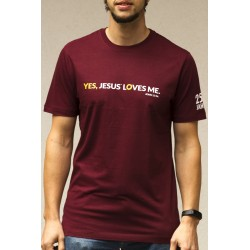 "T-Shirt  2018 ""Yes, Jesus loves me"""