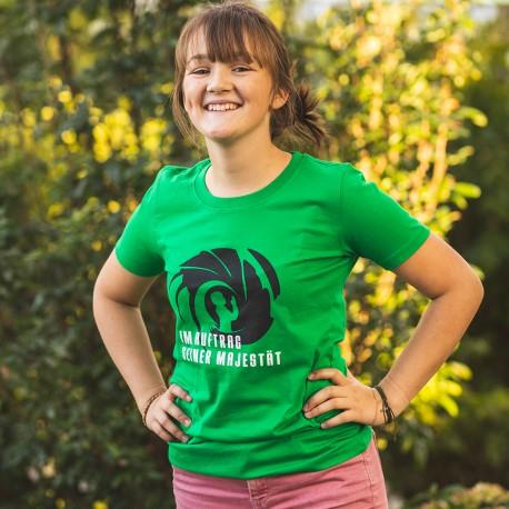 """T-Shirt """"Im Auftrag seiner Majestät"""""""